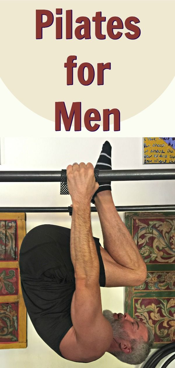 Pilates is an exercise regimen that can develop strength, health, and mobility in men over the age o...