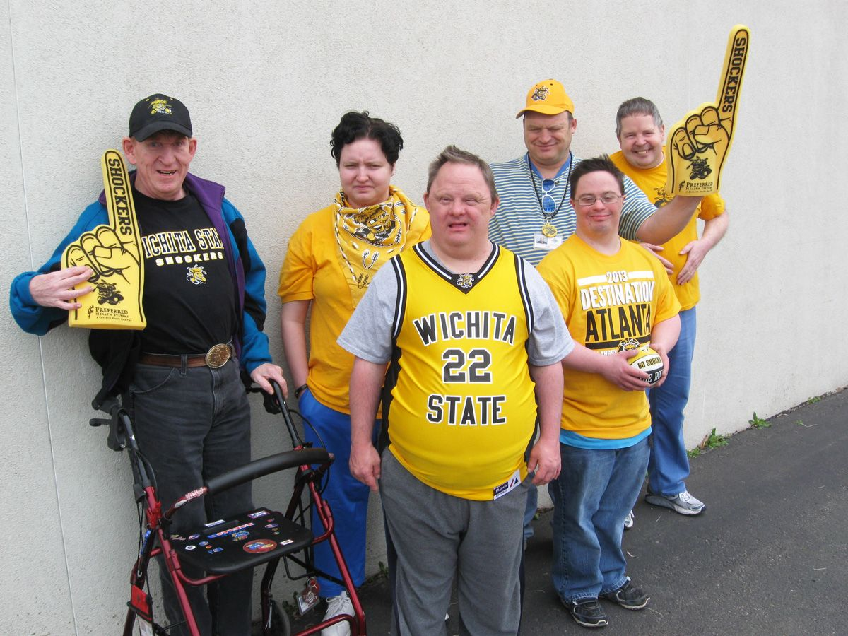 Go Shockers! We stand behind our home team! Atlanta and