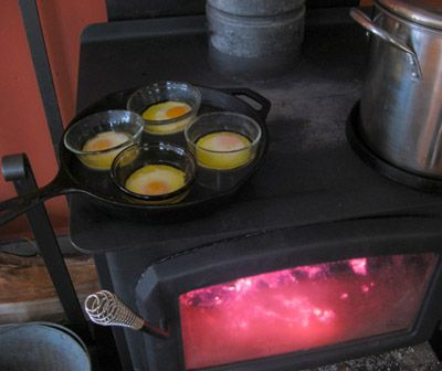 Cooking on the woodstove. There's a simple beauty to the fact that you can  both - Cooking On The Woodstove. There's A Simple Beauty To The Fact That