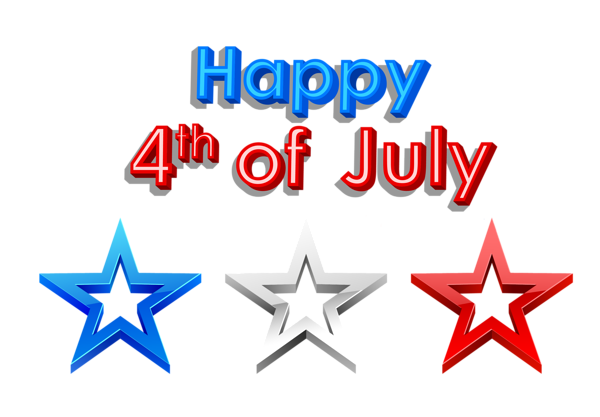 Happy 4th Of July Png Clipart Picture 4th Of July Clipart 4th Of July Images Happy Fourth Of July
