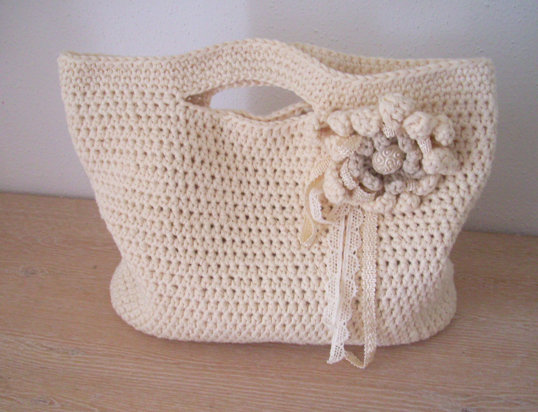 tasche geh kelt croche pillow bags baskets pinterest h keln tasche h keln und stricken. Black Bedroom Furniture Sets. Home Design Ideas