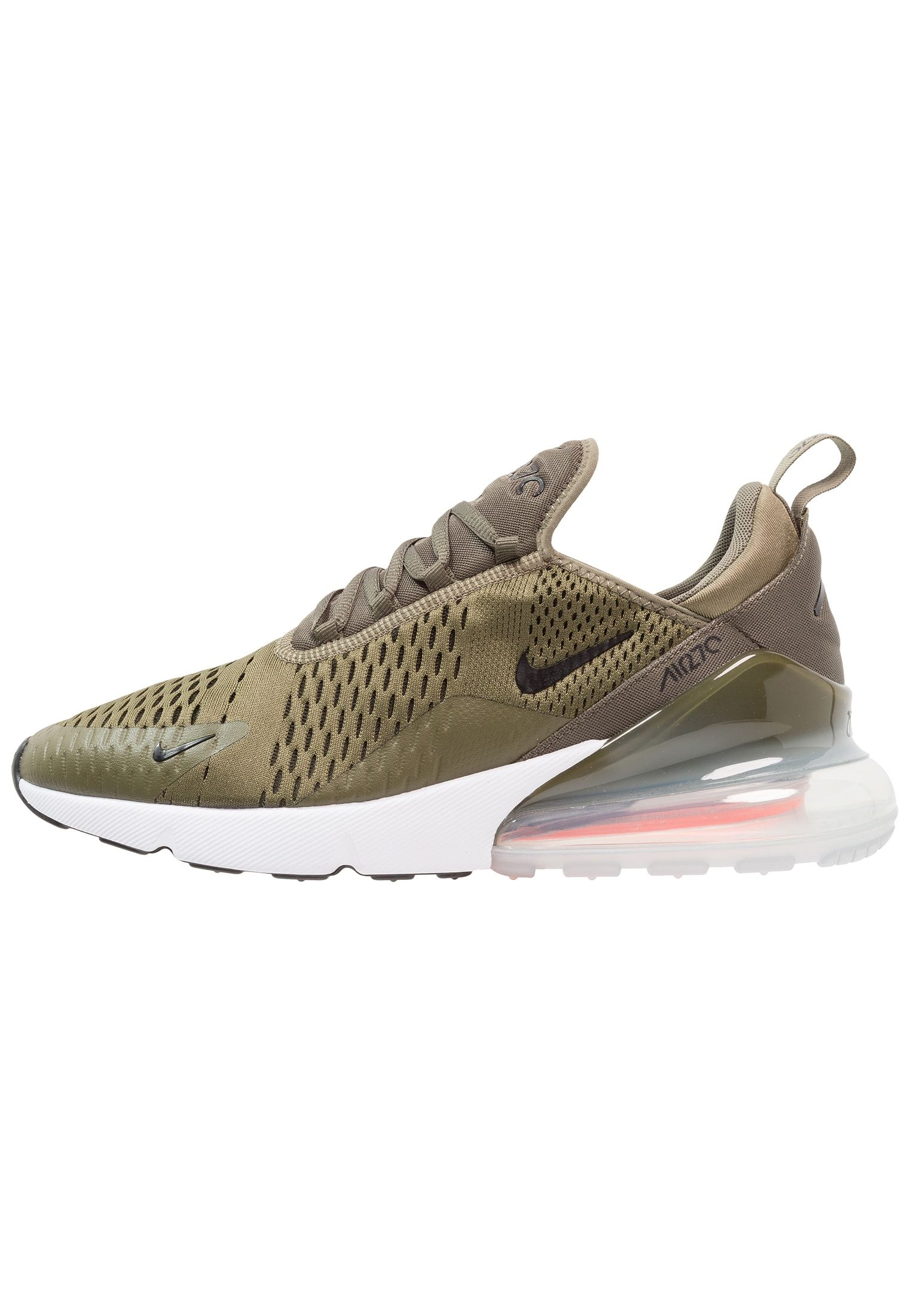the best attitude 9b36f c5a6f Nike Sportswear AIR MAX 270 - Sneaker low - medium olive black total  orange white - Zalando.de