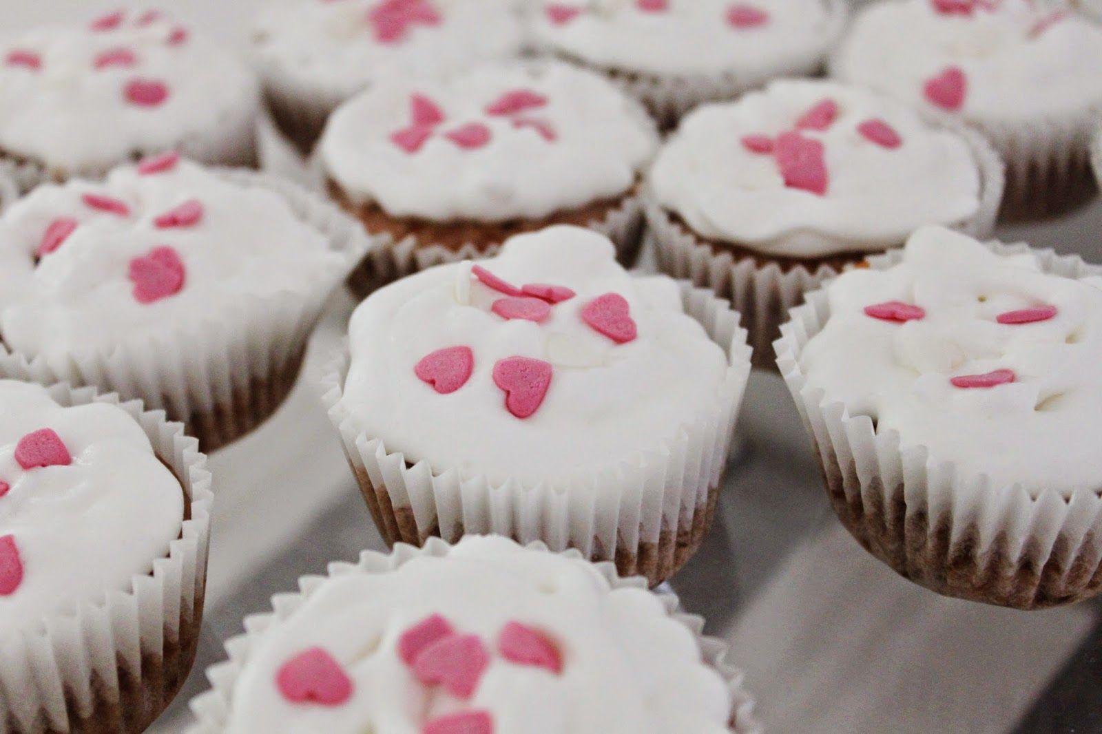 Vegan Aos 30: Cupcakes de Morango