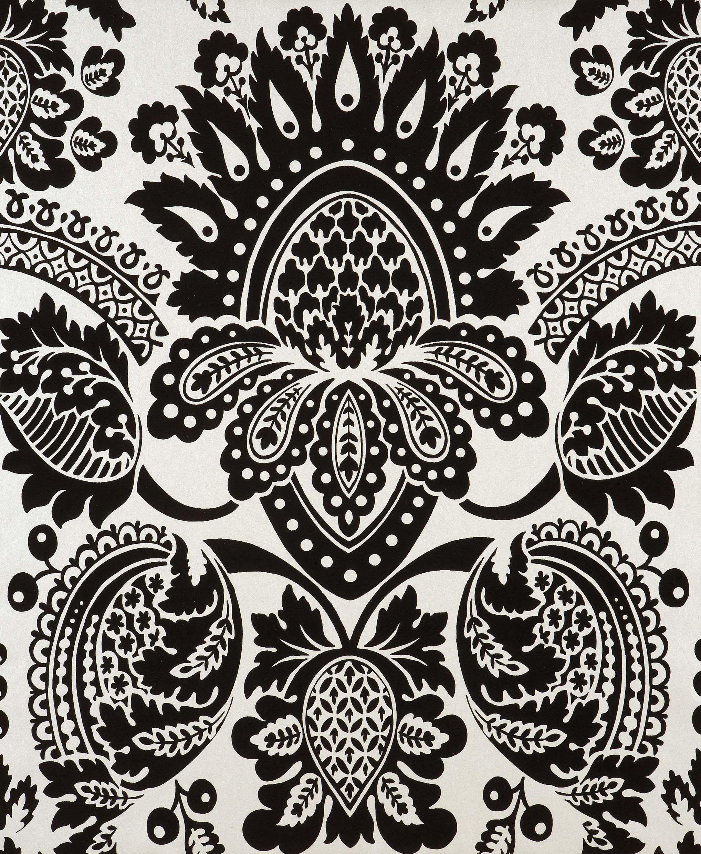 Full hd black damask wallpaper desktop wallpaper black for Damask wallpaper