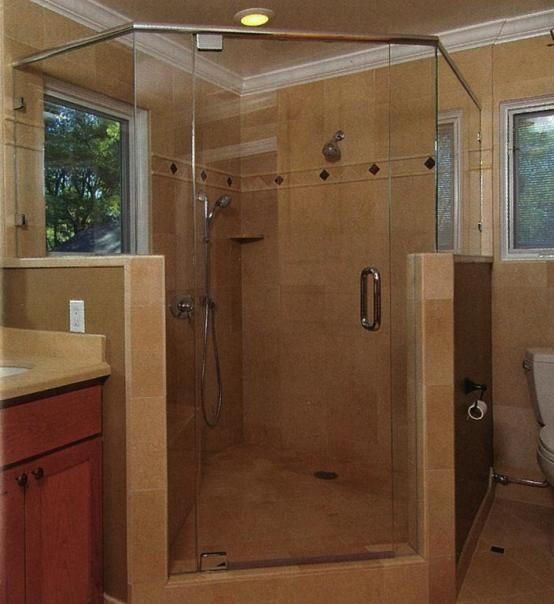half height shower walls - Google Search | Whale Rock Interior ...