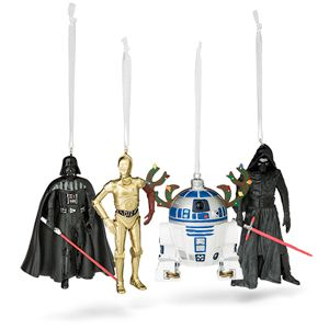 Kylo Ren Ornament Star Wars Christmas Hallmark holiday  decor collectible