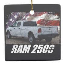 2014 Ram 2500 Crew Cab Tradesman Ceramic Ornament