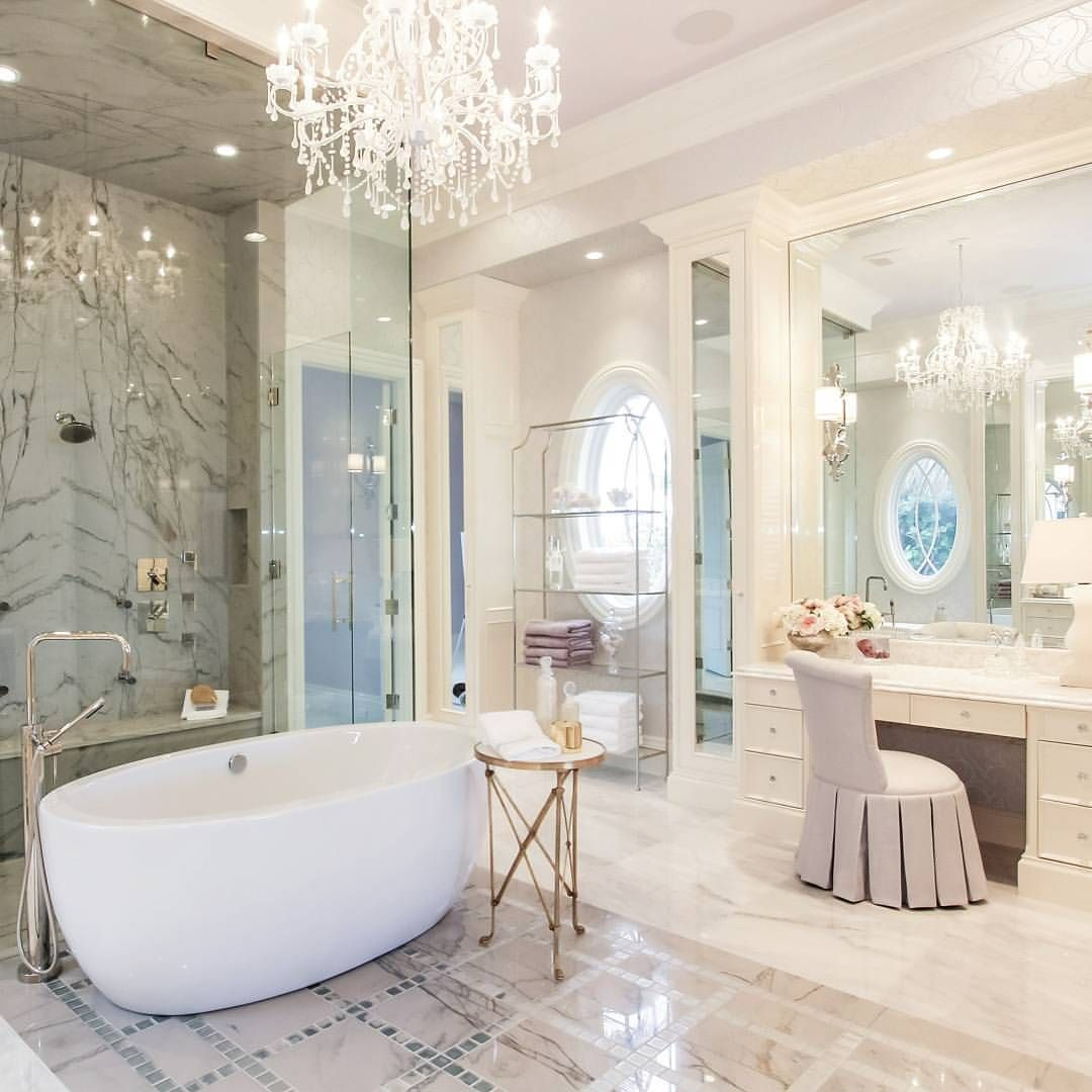 """Interior Design & Home Decor on Instagram: """"This bathroom!! 😍😍 By ..."""