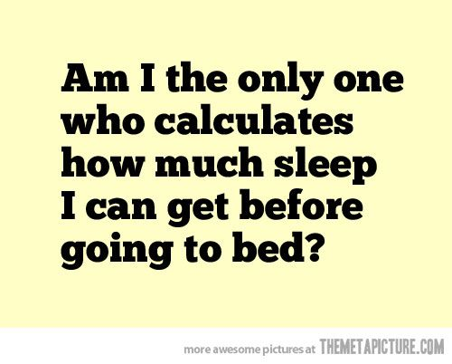 I literally do this EVERY night!