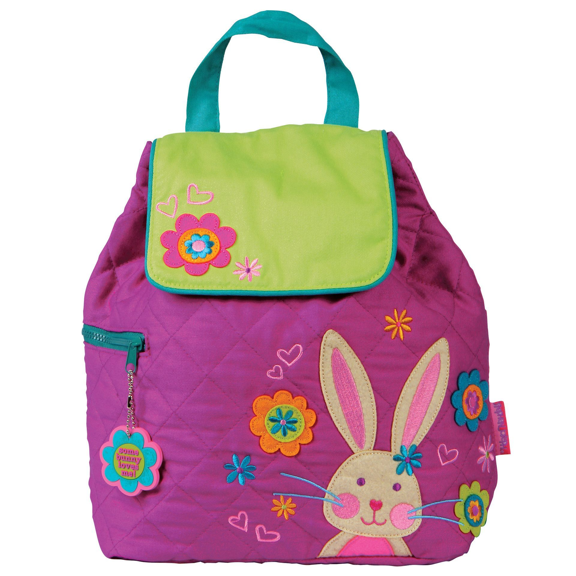 Stephen Joseph Kids Quilted Backpack - Bunny  f29f30bbdcb00