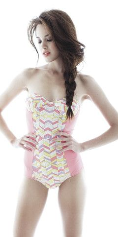 Love retro-styled swimwear!