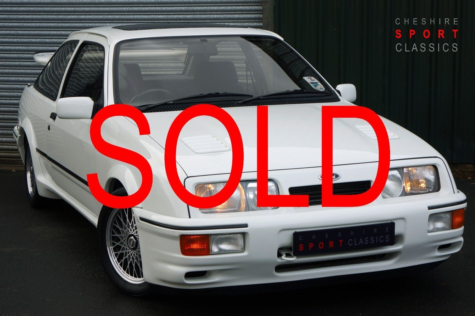 Ford Sierra RS Cosworth, Concourse Prepared, Engine Re-build, Outstanding
