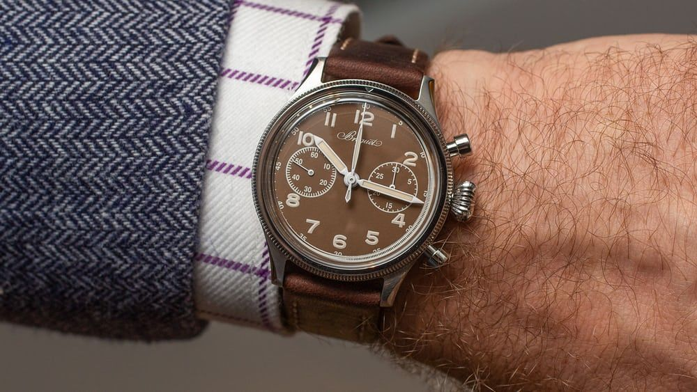 Hands On The Breguet Type 20 For Only Watch With A Vintage Valjoux Movement Hodinkee Vintage Watch V Vintage Watches Beautiful Watches Hodinkee