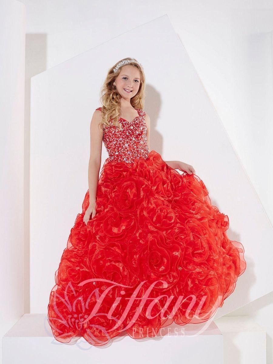Everything formals tiffany princess little girls dress