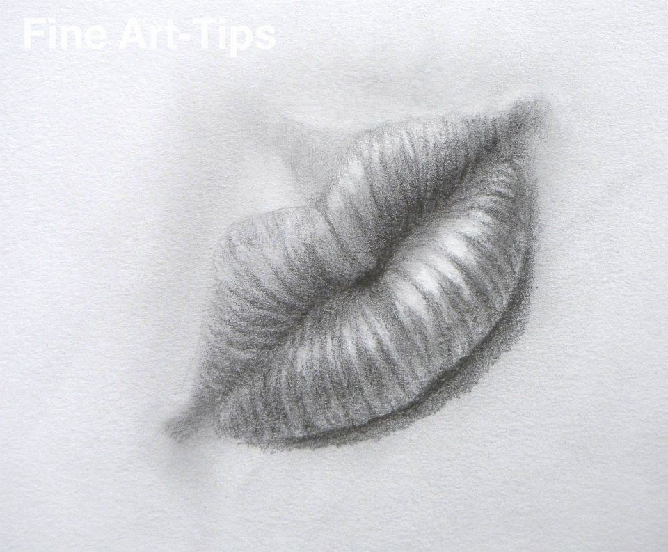 How to draw a realistic mouth with pencil step by step art drawing finearttips lips tutorial tutto3 artistleonardo leonardopereznieto take a look to