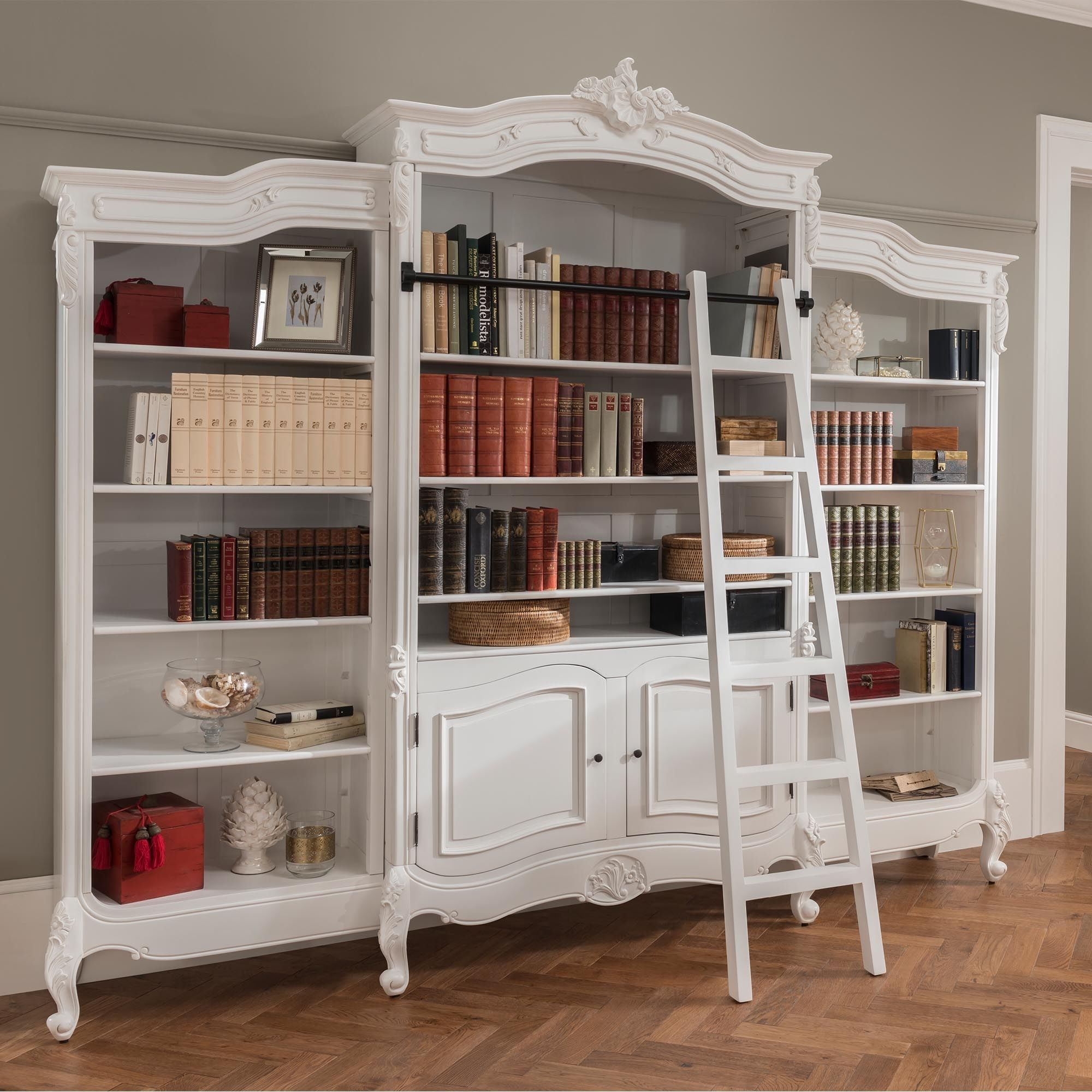 Antique French Style Bookcase in 2020 Shabby chic