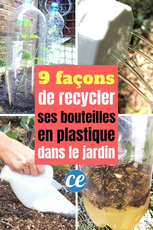 9 Facons Geniales De Recycler Ses Bouteilles En Plastique Dans Le