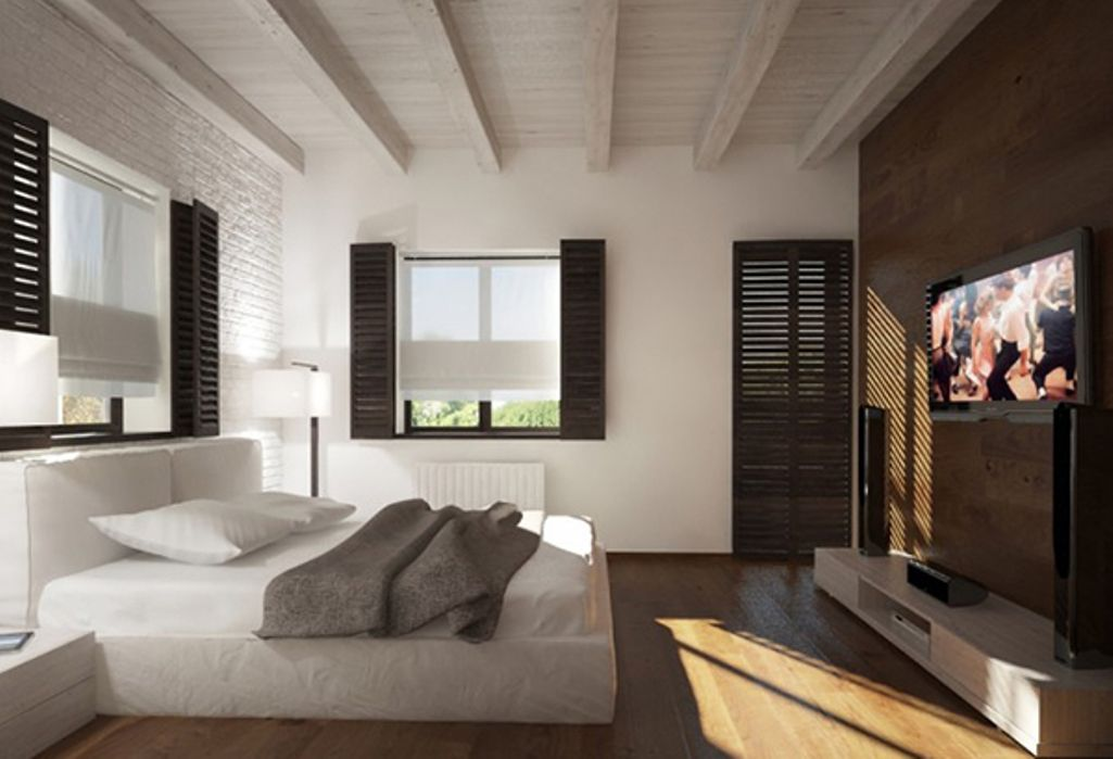 bedroom marvelous ideas with wooden roofs | awesome Exposed Wooden Roof Beams in Bedroom | Bedrooms ...