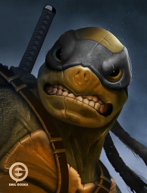 Leonardo This actually seems like how the turtles should ...