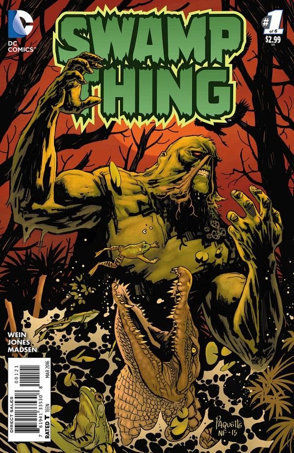 Direct cover SAGA OF THE SWAMP THING #1 VF DC Comics 1982