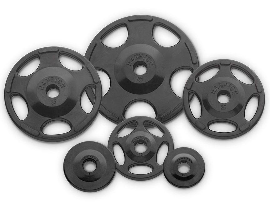 Hampton fitness rubber grip plates hampton hog r garage gym