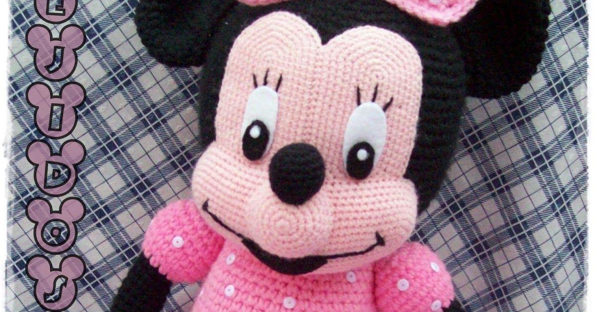 Minnie Mouse Amigurumi - Free Pattern (Beautiful Skills - Crochet ...