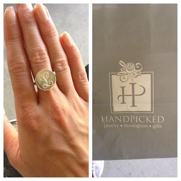 #handpicked #monogram #jewelry photo from malmal0419 on instagram