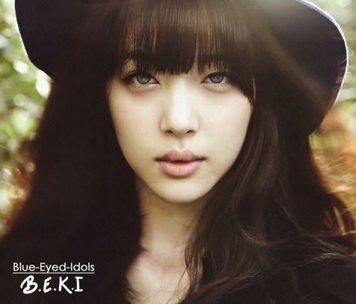 Blue Eyed K Pop Idols 300 Choi Jinri Sulli F X Sulli Blue Eyes Idol