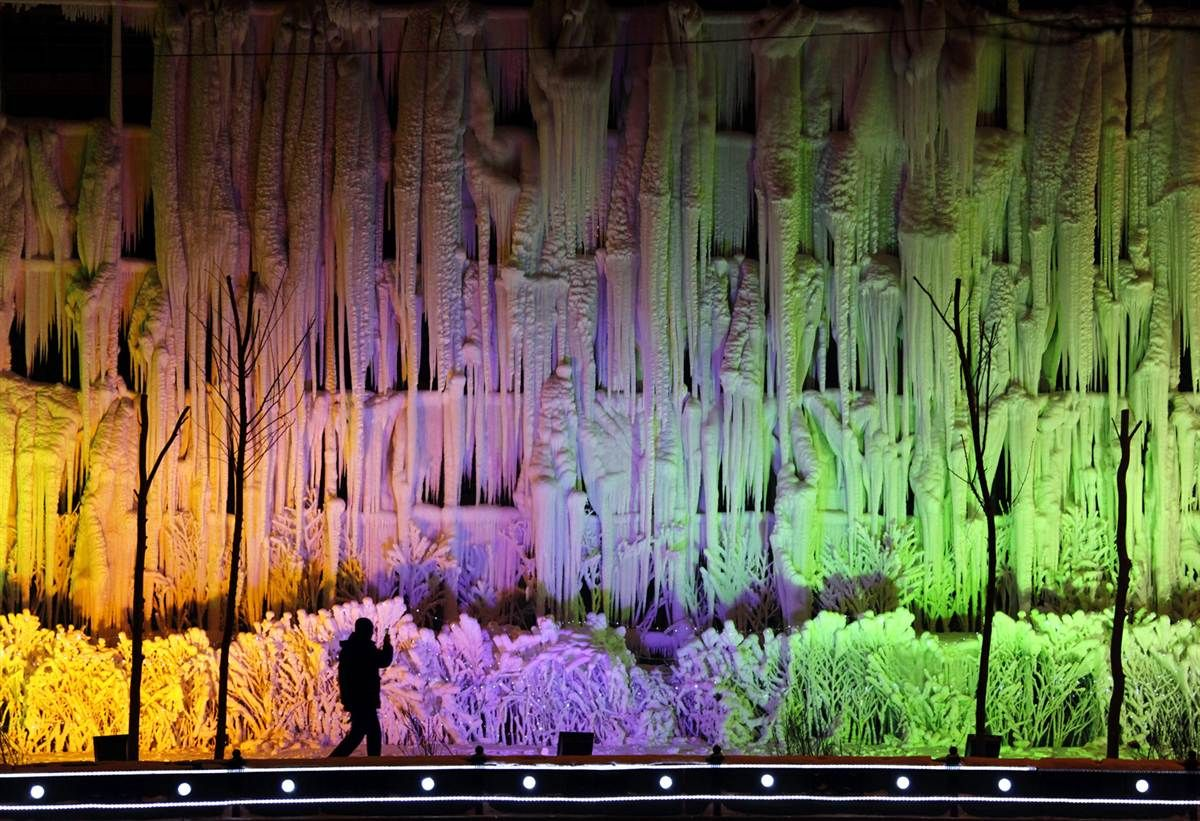 I guess there are some advantages to living in an icy climate!!! Beautiful Ice Festival in China