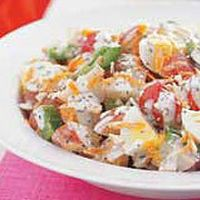 Better For You Potato Salad by Food and Family