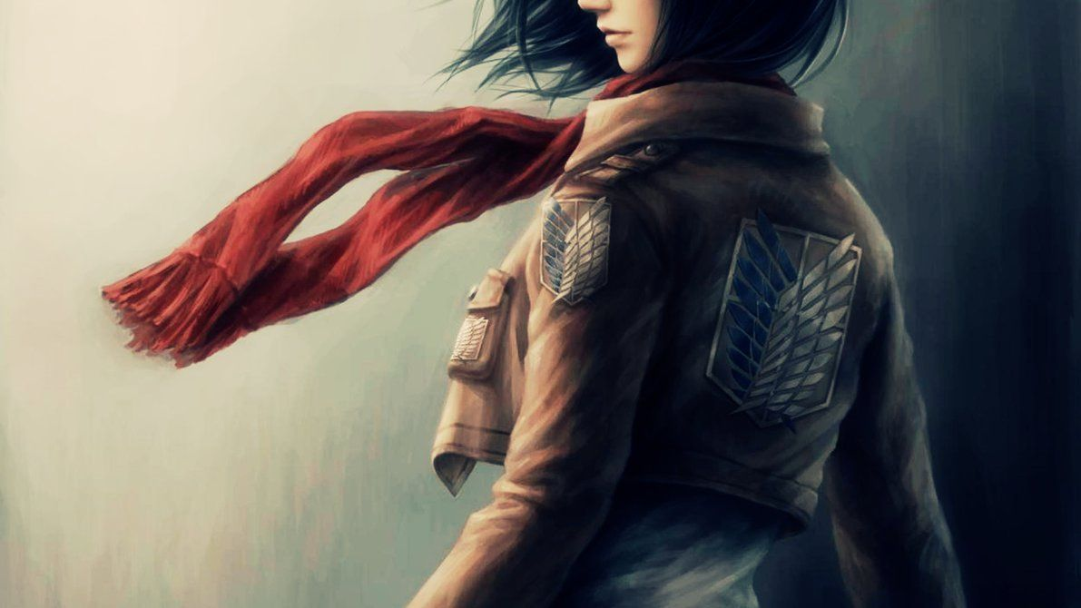 Mikasa Wallpaper 4k Mikasa Attack On Titan Attack On Titan Art
