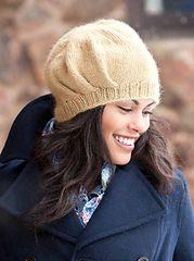 Ruche Beret - my pattern in Weekend Hats.