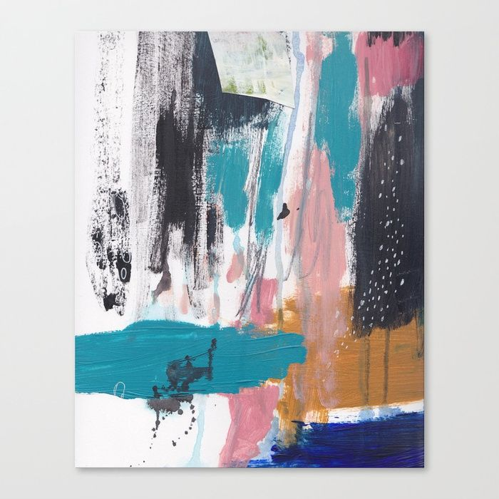 Colorful abstract painting by artist Nicole Chilton Available on - copy what is blueprint paper called