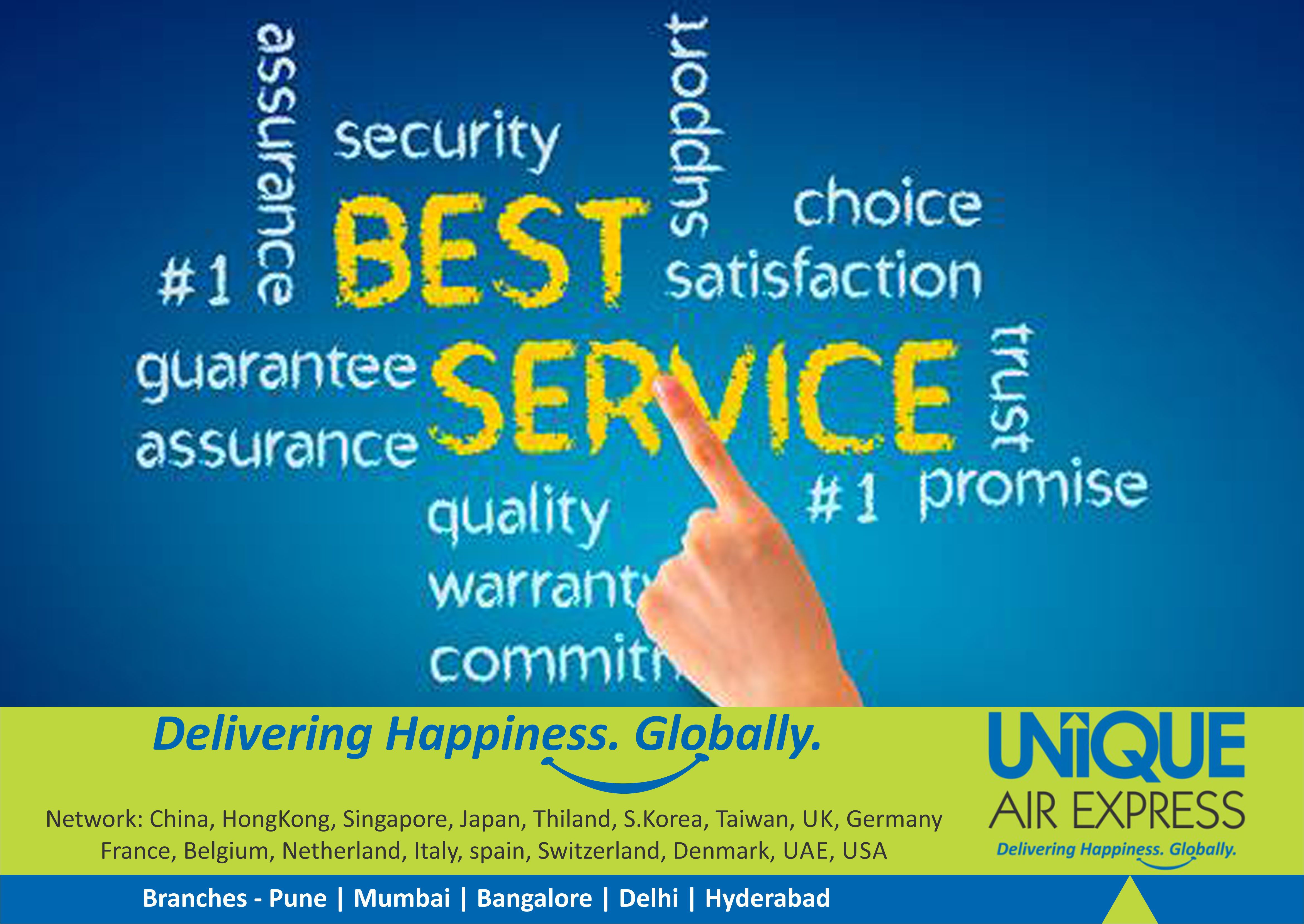 The Company with the #Defined Best #Services by All Means  #Courier