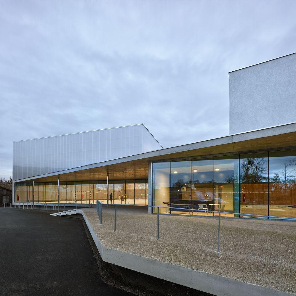 Gallery Of Human Rights Sports Center In Strasbourg Dominique Coulon Associes 4 Arquitetura Comunitario Casas De Luxo