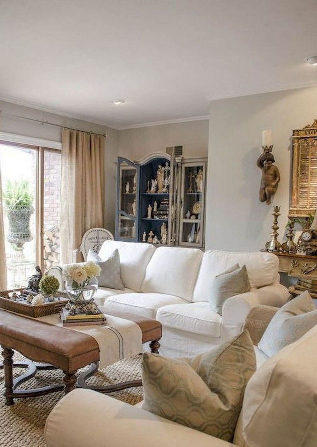 Adorable 60 Fancy French Country Living Room Decor Ideas Https Homespecially Com 60 French Country Living Room Country Living Room Country Living Room Design