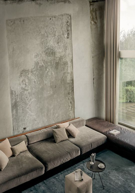 Stunning modern interior doesn't need many colors. // Gorßartiges Innendesign braucht keine Farbe. #moderninterior #interior #living #enjoysiemens