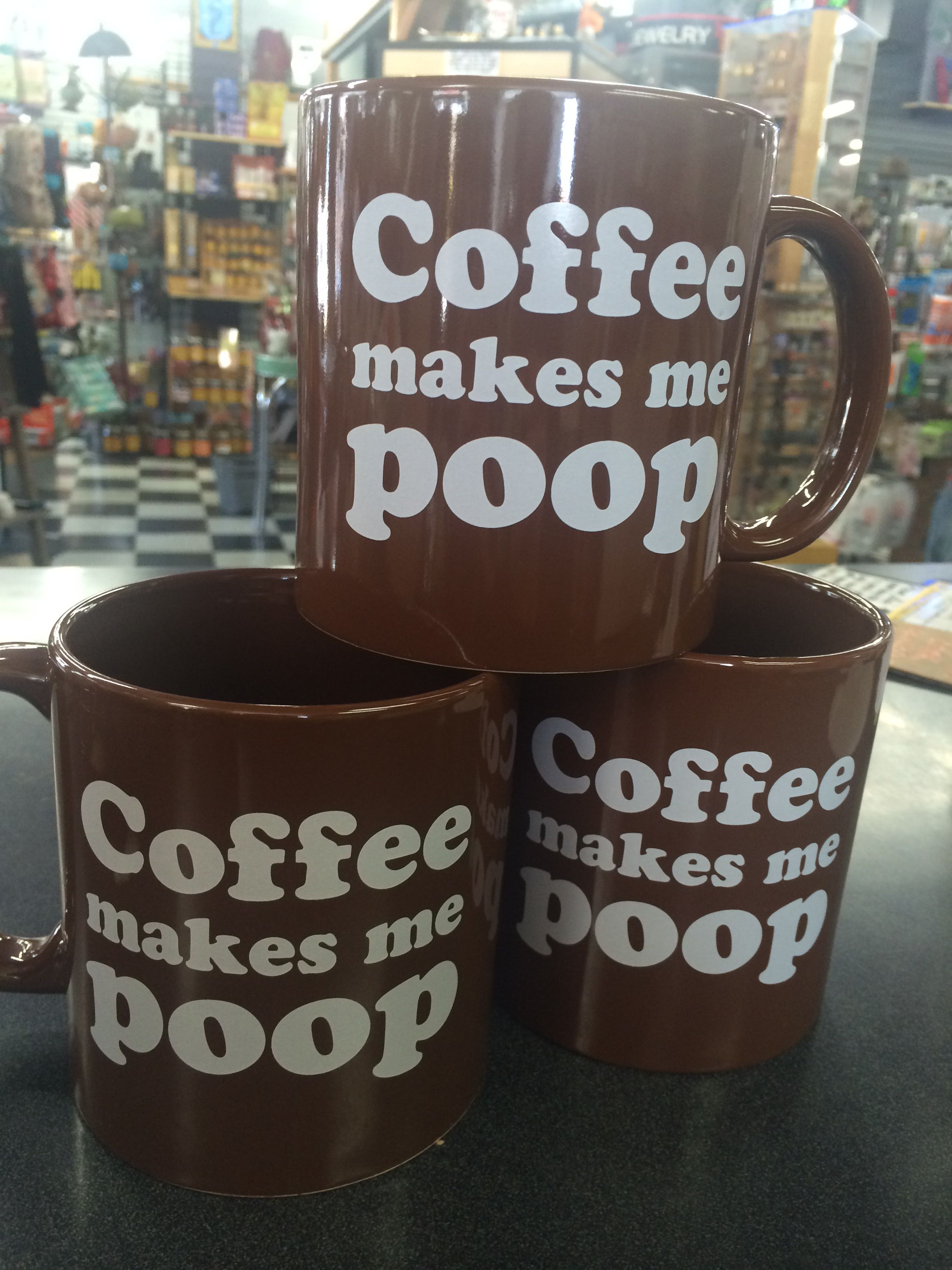 Giant Coffee Mugs With A Very Simple Message