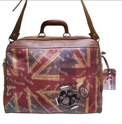 Beatles - Union Jack - Reisetasche/Handtasche von Disaster Designs - http://goo.gl/McKf1u