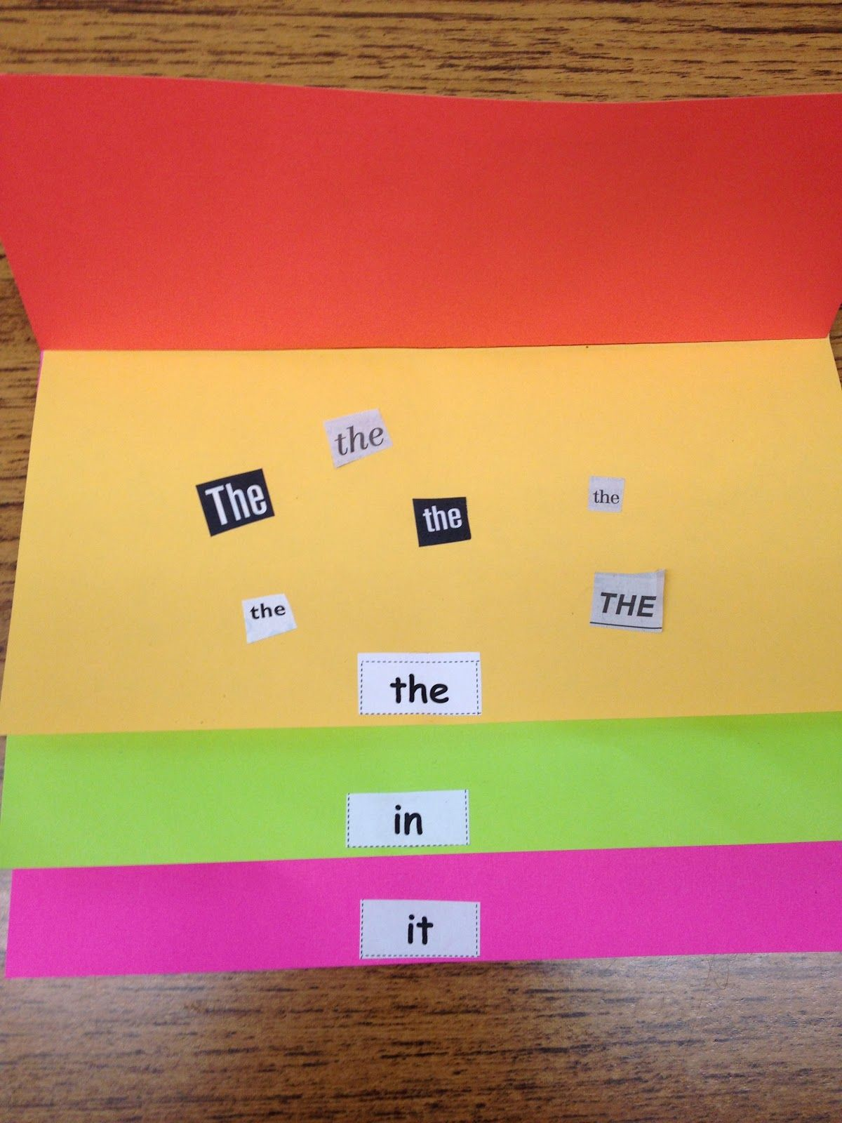 Sight Word Flip Books Use Magazines And Newspapers And Go On A Hunt For Words