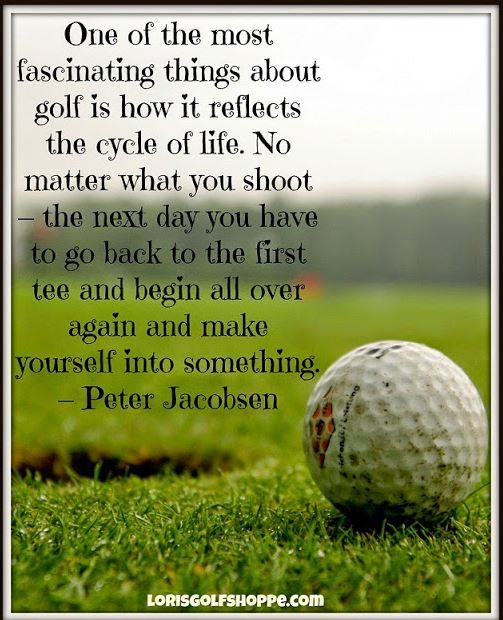 Great Quote Golf Golf Deportes Y Frases