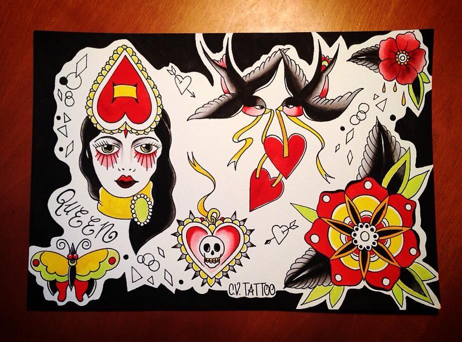 New FLASH/ NUOVA TAVOLA #charlottetattoo #milano #milanotattoo #ink #tattoo #tattoos
