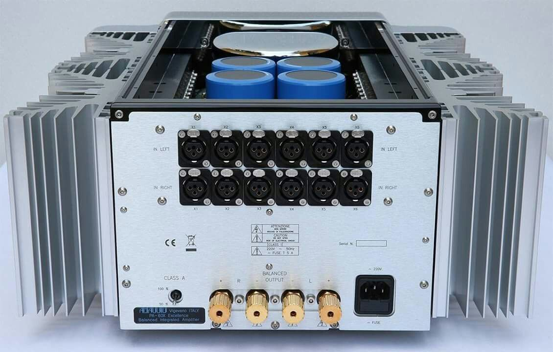 Stunning PA-60X integrated amp from AM Audio. High end audio audiophile
