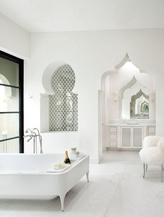 Des salles de bain au style oriental version épurée | Style oriental ...