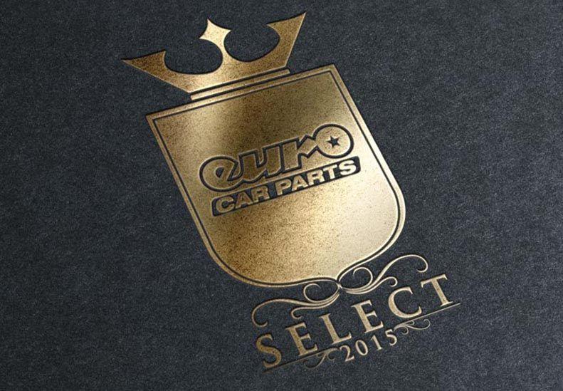 Client Euro Car Parts Sector Automotive Deliverables Logo Design