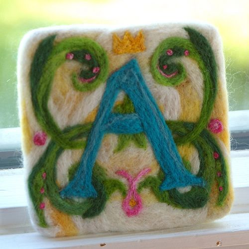 The Letter A by BeneathTheRowanTree, via Flickr