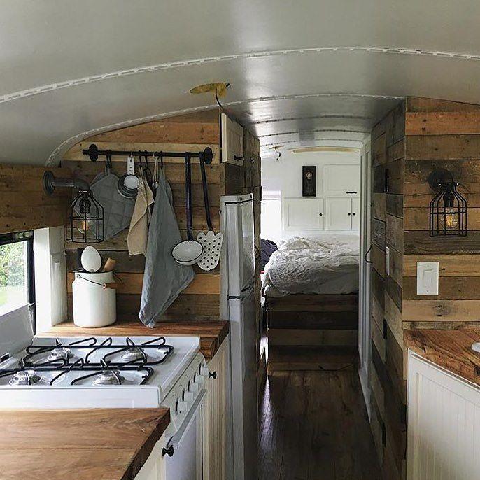 schner holz ausbau der camper kche - Wohnmobil Dusche Ausbauen
