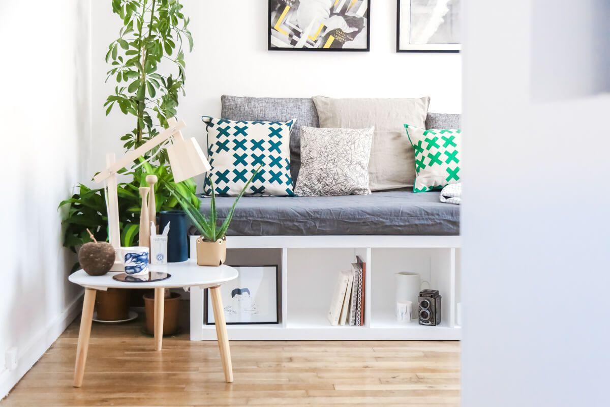 Interior Design Diy Banquette Design Adc X Le Bon Coin Etagere Ikea Mobilier De Salon Et Meuble Chaussure