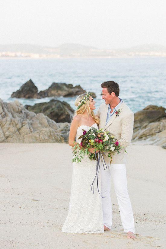 Private Beach Wedding Dress
