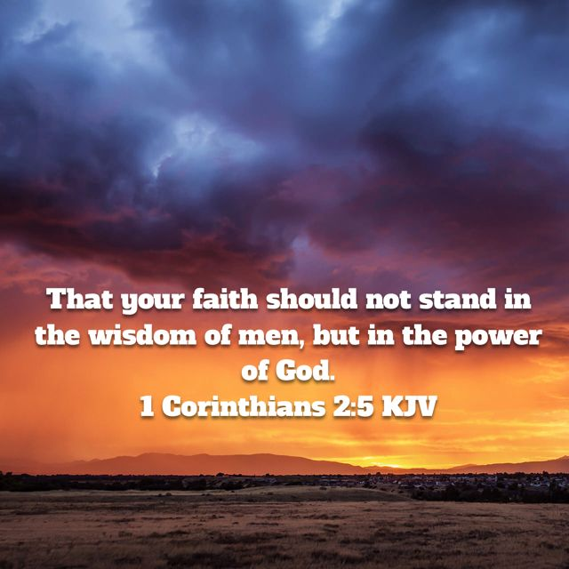 1 Corinthians 2:5 KJV   Psalms, Good news bible, Bible apps